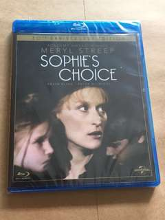 (Brand new) Sophie's Choice 30th Anniversary Edition Blu Ray