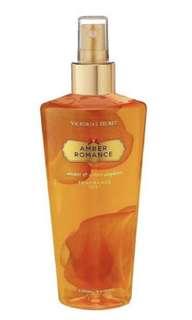 Victoria's Secret Amber Romance Body Spray Mist