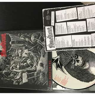 Merciless The awakening pic disc LP
