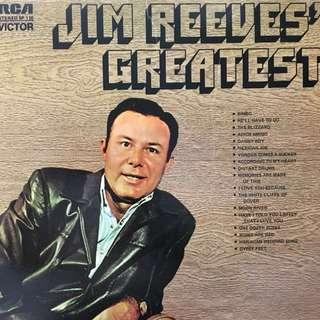 Jim Reeves vinyl record Lp
