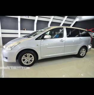 Toyota Wish 1.8A For Rent Grab 6seater / RydeX