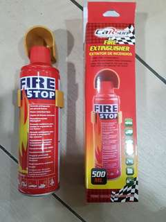 Vans, cars, motorcycle fire extinguisher