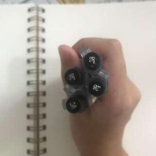 0.38 Muji Gel Ink Pen Retractable