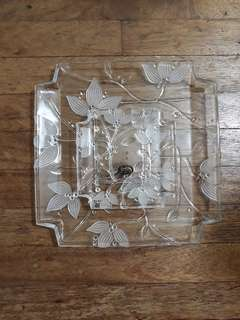 Glass Tray - Japan Made (New) Selling Low!