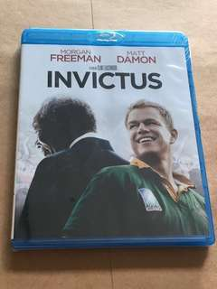 (Brand new) Invictus Blu Ray