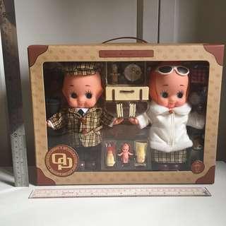Kewpie 野餐丘比BB 日本2002年Kewpie沙律醬抽獎禮物 非賣品 絕版限量 新品 未開封 (非sonny angel, blythe)日本公仔 娃娃 結婚 車頭公仔