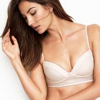 全新 維多利亞的秘密 Victoria's Secret 無鋼圈胸罩 bralette XS (C70 B65 C65 A70 B70皆適用)