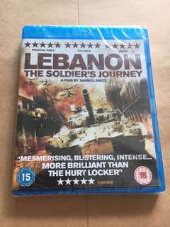 (Brand new) Lebanon The Soldier's Journey Blu Ray