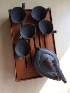 青蓮名家手作喫茶套組