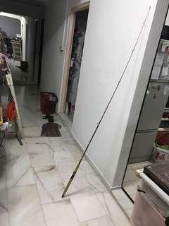 1 piece Abu suecia 321 zoom Sweden old fishing rod 1940year