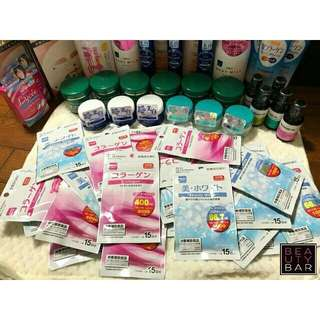 Daiso authentic Beauty white and Collagen  combo