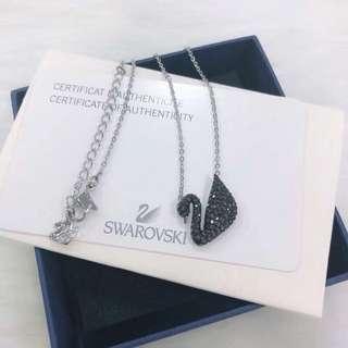 Swarovski 施華洛世奇 小黑銀鏈天鵝 65折