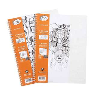 Whitelines Grid Notebook