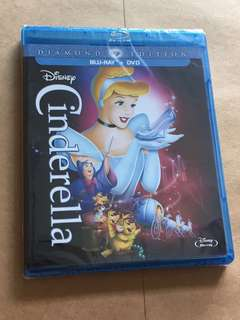 (Brand new) Cinderella Diamond Edition Blu Ray