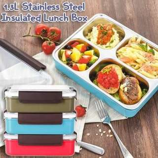 5 COMPARTMENT INSULATED LUNCH BOX