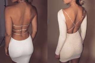 2x meshki dresses never worn brand new XS description for details