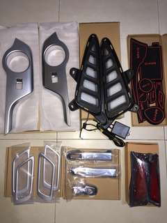 Toyota C-HR accessories
