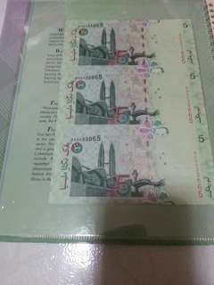 Rm5 7th series and 9 Series , Pair,comes with folder