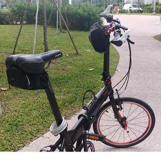 TRAVELO FS-V SHIMANO DEORE 10 SPEED FOLDING BIKE
