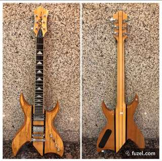 BC Rich Bich Exotic Classic Neck Thru Electric Guitar Rare