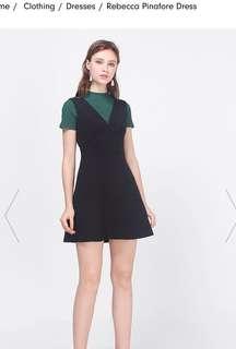 Fayth | Rebecca Pinafore Dress (M)