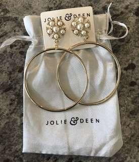 Jolie & Deen Hoop Earrings