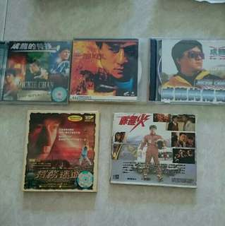 Jackie Chan movie Vcd