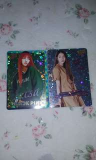 [YES CARDS]BLACKPINK GFRIEND 閃卡