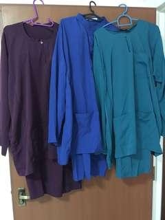 🆑3 sets for $42 Mailed Mens Baju Kurung Set Bundles