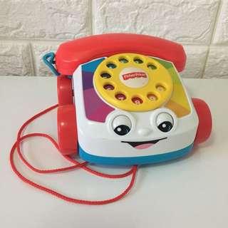 EUC Fisher Price Telephone Toy