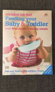 "Book ""Feeding your baby"""