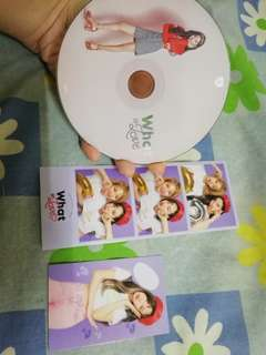 TRADING what is love cd and photocards