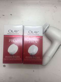 Olay Pro X Cleansing Brush with Extra Brush Heads