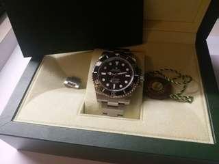 (Sold)勞力士Rolex 114060 submariner 亂碼頭