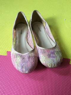 Floral Lace Flats by Call It SPRING