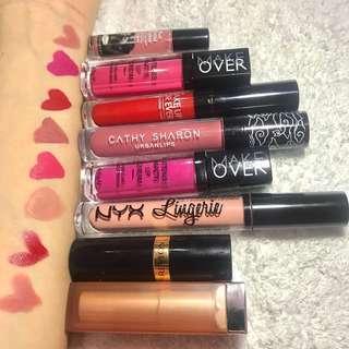 Preloved all lipstik isi masih 85-95%