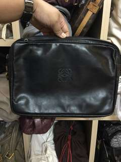 Authentic Loewe Lambskin Clutch