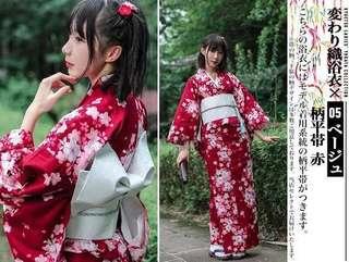 PO: Yukata japan cosplay matsuri dark sakura cherry blossom