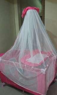 Baby Crib(pink)