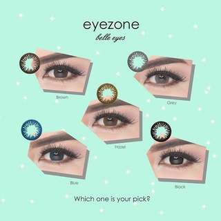 Softlens Eyezone Belle Eyes