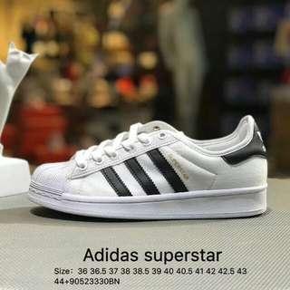 Adidas superstar 尼龍布軟底貝殼頭帆布鞋 白金標 男女鞋 S82569