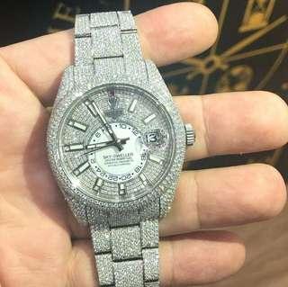 Genuine Rolex 9k WG