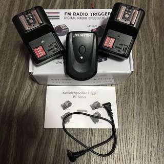 **75% OFF** Speedlite Radio Trigger (PT-16GY)