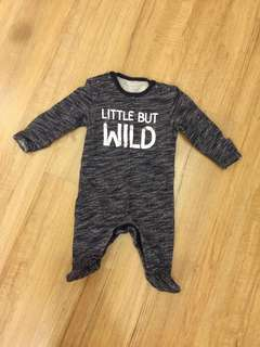 Little But Wild Bodysuit/Sleepsuit