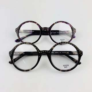Anna Sui Round eyeglasses 眼鏡