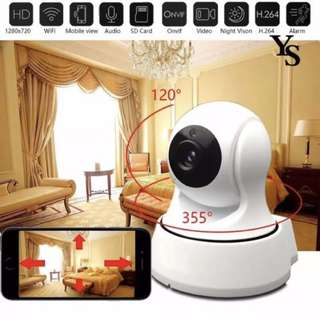 New Ready Stock Wifi CCTV Camera - Complete Set in Box