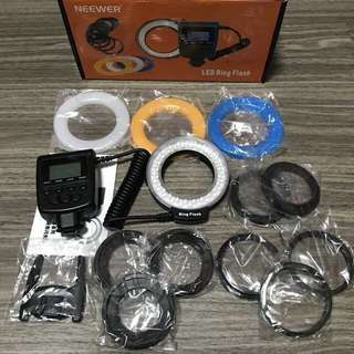 **40% OFF** LED Ring Flash RF550 Series