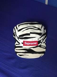 supreme zebra camp cap