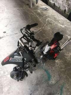 2 stroke mini scooter/ 49cc (gasoline engine)
