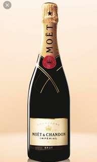 法國 酩悅香檳 Moët & Chandon champagne 全新100% 750ml